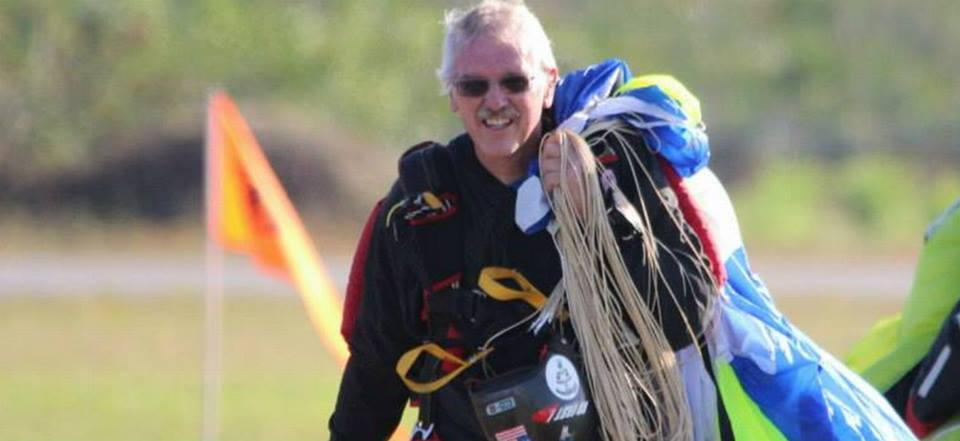 Jump IN! Sebastian:  Organizer Bill Flynn Hits 1500th Skydive